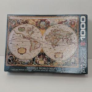 Eurographics Antique World Map Jigsaw Puzzle